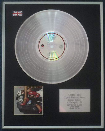 The Cars - Limited Edition CD Platinum LP Disc - Greatest Hits