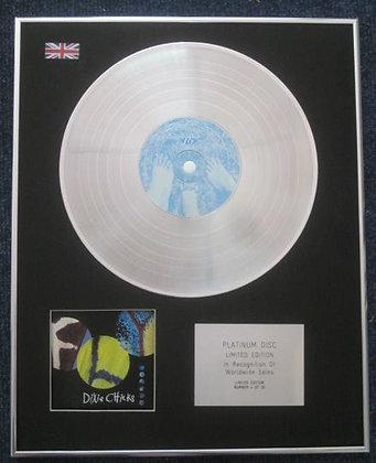 DIXIE CHICKS - Limited Edition CD Platinum LP Disc - FLY
