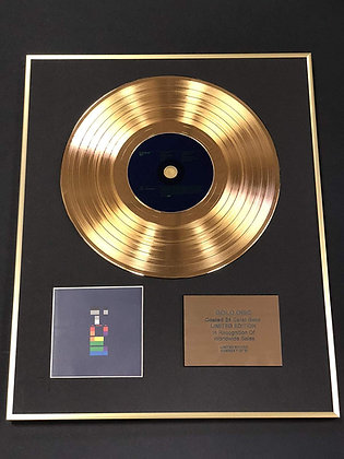 Coldplay - Exclusive Limited Edition 24 Carat Gold Disc - X And Y