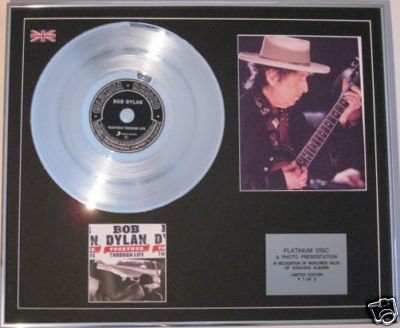 BOB DYLAN  CD Platinum Disc+Photo-TOGETHER THROUGH LIFE