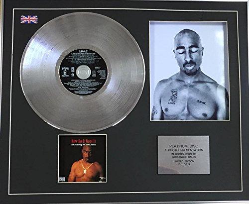 2Pac - Platinum CD Single + Photo - HOW DO U WANT IT