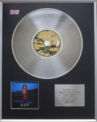 Birdy - Limited Edition CD Platinum LP Disc - Beautiful Lies