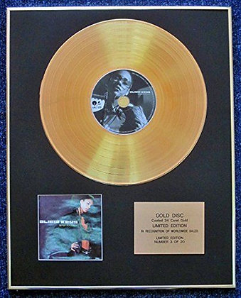 Alicia Keys - Limited Edition CD 24 Carat Gold Coated LP Disc - Songs in A Minor