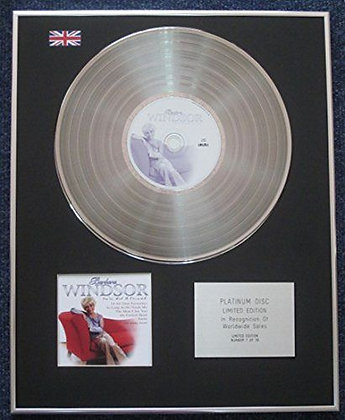 Barbara Windsor - Limited Edition CD Platinum LP Disc - You've Got a Friend