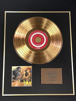 Blur - Exclusive Limited Edition 24 Carat Gold Disc - Parklife