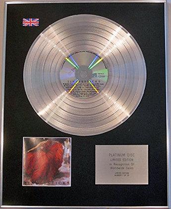 TINDERSTICKS - Limited Edition CD Platinum Disc - TINDERSTICKS