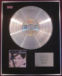 BLOW MONKEYS - CD Platinum Disc - SHE WAS ONLY A GROCER'S DAUGHTER