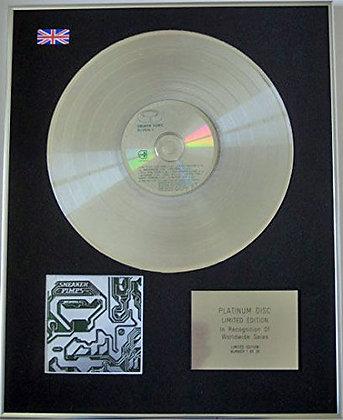 SNEAKER PIMPS - CD Platinum Disc - BECOMING X