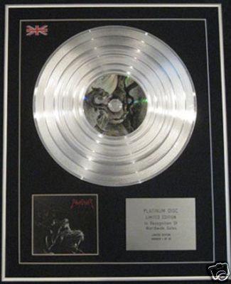 EMPEROR -Ltd Edt CD Platinum Disc - WRATH OF THE TYRANT