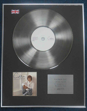 Cilla Black - Limited Edition CD Platinum LP Disc - Greatest Hits & New Songs