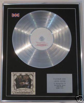 DECEMBERISTS -  Ltd Edt CD Platinum Disc - PICARESQUE