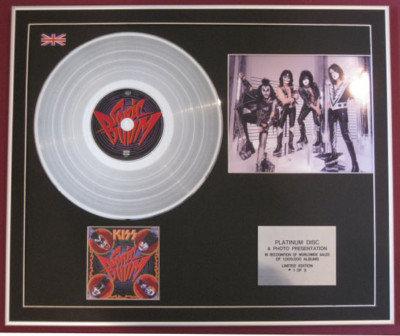 KISS - CD Platinum Disc+Photo -SONIC BOOM