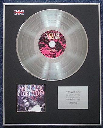 Nelly Furtado - Limited Edition CD Platinum LP Disc - Folklore