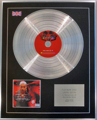 EVE  - Limited Edition CD Platinum Disc - SCORPION
