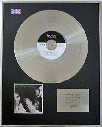 KATE & ANNA McGARRIGLE - CD Platinum Disc -  THE FREE