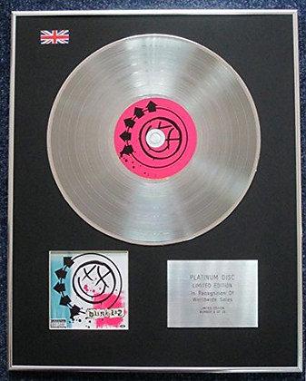 blink-182 - Limited Edition CD Platinum LP Disc - 'blink-182'