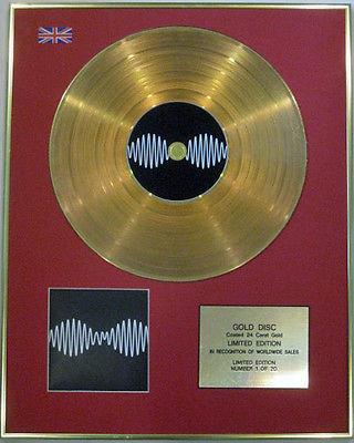 ARCTIC MONKEYS - Ltd Edition CD  24 Carat Gold Disc - AM