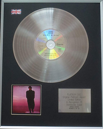 Mary Black - Limited Edition CD Platinum LP Disc - By the Time It Gets Dark