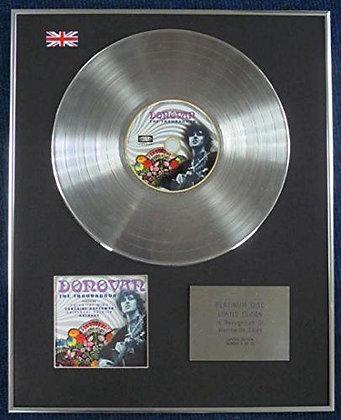 DONOVAN - Limited Edition CD Platinum LP Disc - TROUBERDOUR