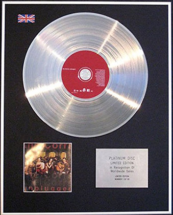 CORRS - CD Platinum Disc - UNPLUGGED