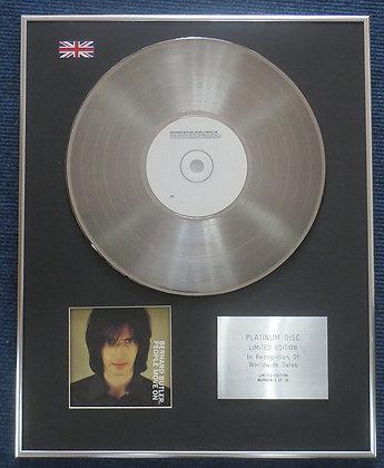 Bernard Butler- Limited Edition CD Platinum LP Disc - People move On