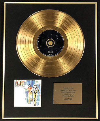 Air - Exclusive Limited Edition 24 Carat Gold Disc - Moon Safari