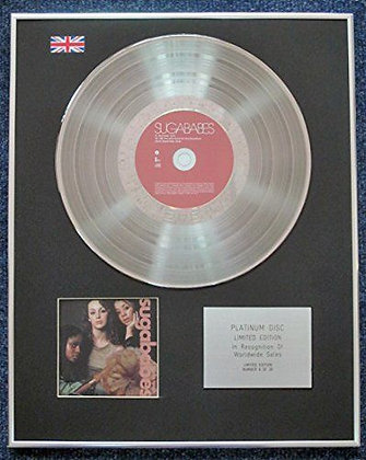 Sugababes - Limited Edition CD Platinum LP Disc - One Touch
