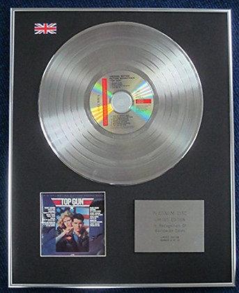 Top Gun - Limited Edition CD Platinum LP Disc - Original Soundtrack