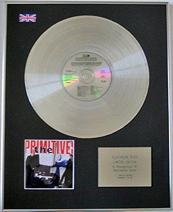 PRIMITIVES - Limited Edition CD Platinum Disc - LOVELY