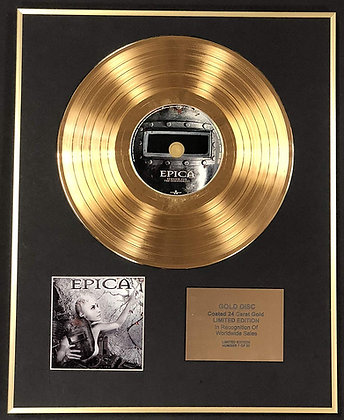 Epica - Exclusive Edition 24 Carat Gold Disc - Requiem For The Indifferent