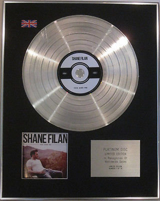 SHANE FILAN - Limited Edition CD  Platinum Disc - YOU AND ME