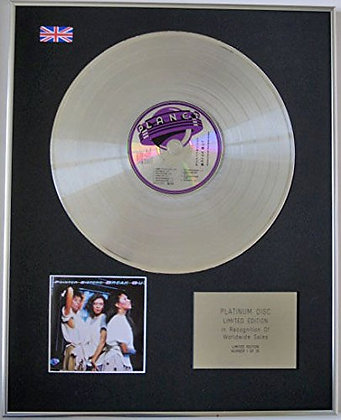 POINTER SISTERS - Limited Edition CD Platinum Disc - BREAK OUT