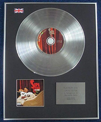 Missy Elliott - Limited Edition CD Platinum LP Disc - Supa Dupa Fly