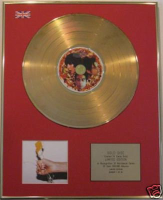 YEAH YEAH YEAHS  - Ltd Edt CD Gold Disc ITS BLITZ