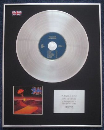 DON FELDER - Limited Edition CD Platinum LP Disc - AIRBOURNE