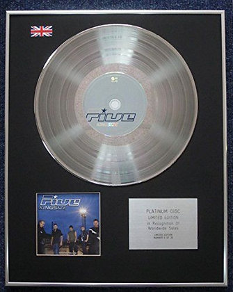 Five - Limited Edition CD Platinum LP Disc - Kingsize