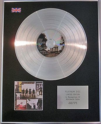 HOOTIE AND THE BLOWFISH - CD Platinum Disc - CRACKED REAR VIEW