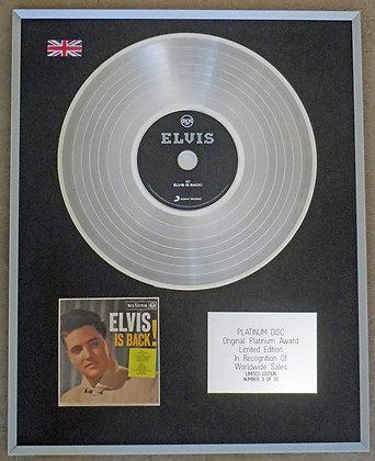 Elvis Presley  -Elvis Is Back