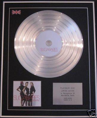 Sugababes  - Ltd Cd Platinumdisc  - Taller In More Ways