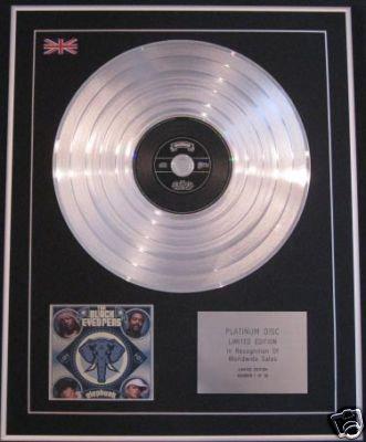 BASEMENT JAXX - Ltd Edition CD Platinum Disc- REMEDY