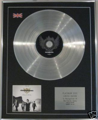 STEREOPHONICS - CD Platinum Disc-DECADE IN THE SUN
