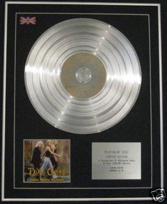 DIXIE CHICKS-Ltd Edtn CD Platinum Disc-WIDE OPEN SPACES