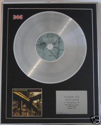 DREAM THEATER CD Platinum Disc- SYSTEMATIC CHAOS