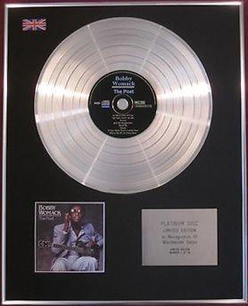 BOBBY WOMACK -  CD Platinum Disc - THE POET