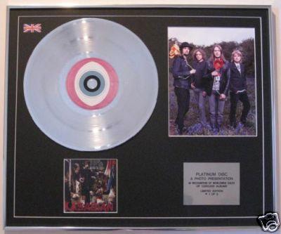KASABIAN - CD Platinum Disc+Photo - LUNATIC ASYLUM