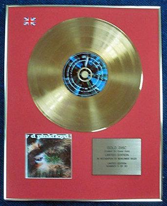 Pink Floyd - LTD Edition CD 24 Carat Gold Coated LP Disc - Saucerful of?