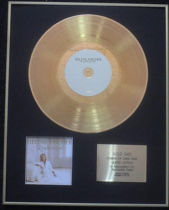 Helene Fischer - Exclusive Limited Edition 24 Carat Gold Disc - Zaubermond