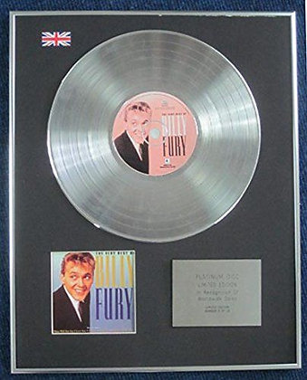 Billy Fury - Limited Edition CD Platinum LP Disc - The Very Best Of