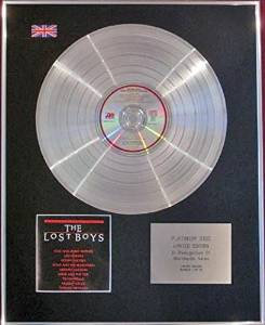 THE LOST BOYS - CD Platinum Disc- ORIGINAL SOUNDTRACK
