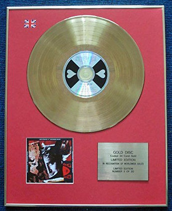 Rod Stewart - LTD Edition CD 24 Carat Gold Coated LP Disc - Vagabond Heart